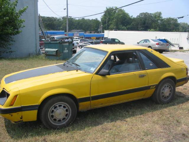 1986 Ford Mustang 5 0 Ho Yellow