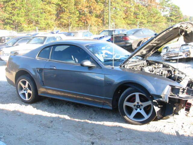 2003 Ford Mustang Coupe 4 6 Manual Gray Image 1