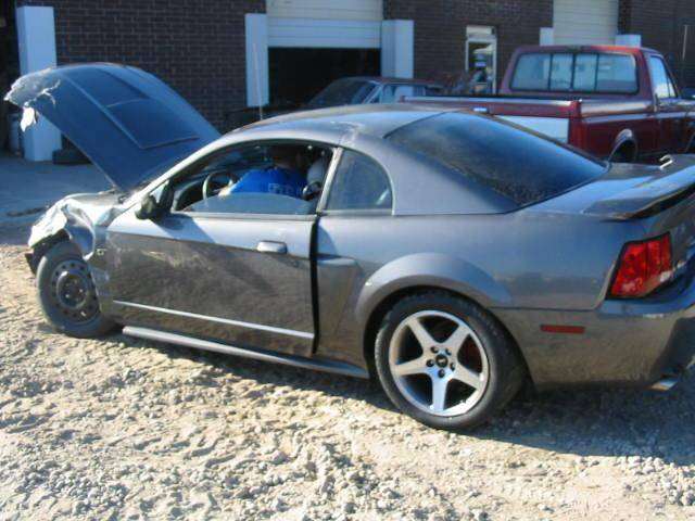2003 Ford Mustang Coupe 4 6 Manual Gray