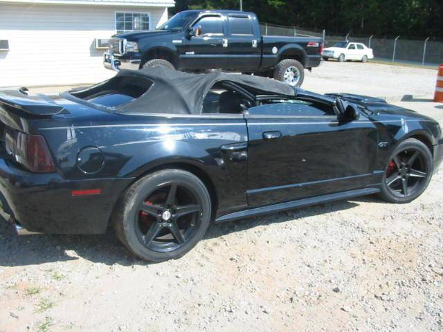 2005 Ford Mustang For Sale >> 99-04 Ford Mustang Convertible 4.6 Automatic - Black - Image 2