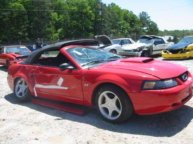 99-04 Ford Mustang Convertible 4 6 Manual - Red