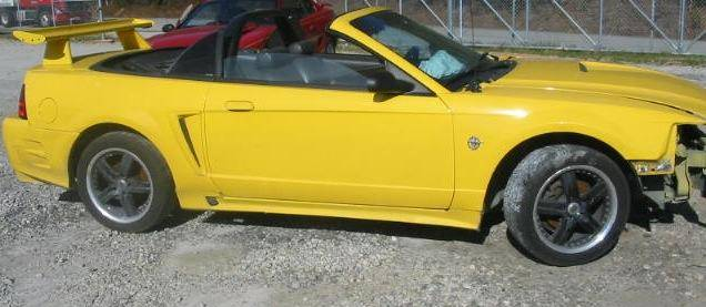 2010 Mustang Convertible For Sale >> 99-04 Ford Mustang Convertible 4.6 Automatic - Yellow