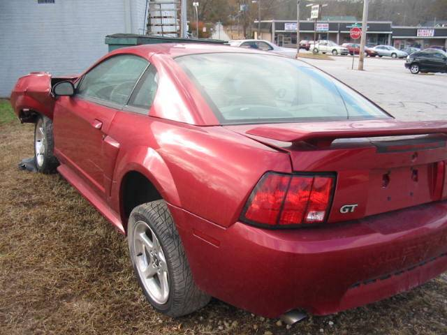 2003 Ford Mustang Coupe 4 6 Manual Red