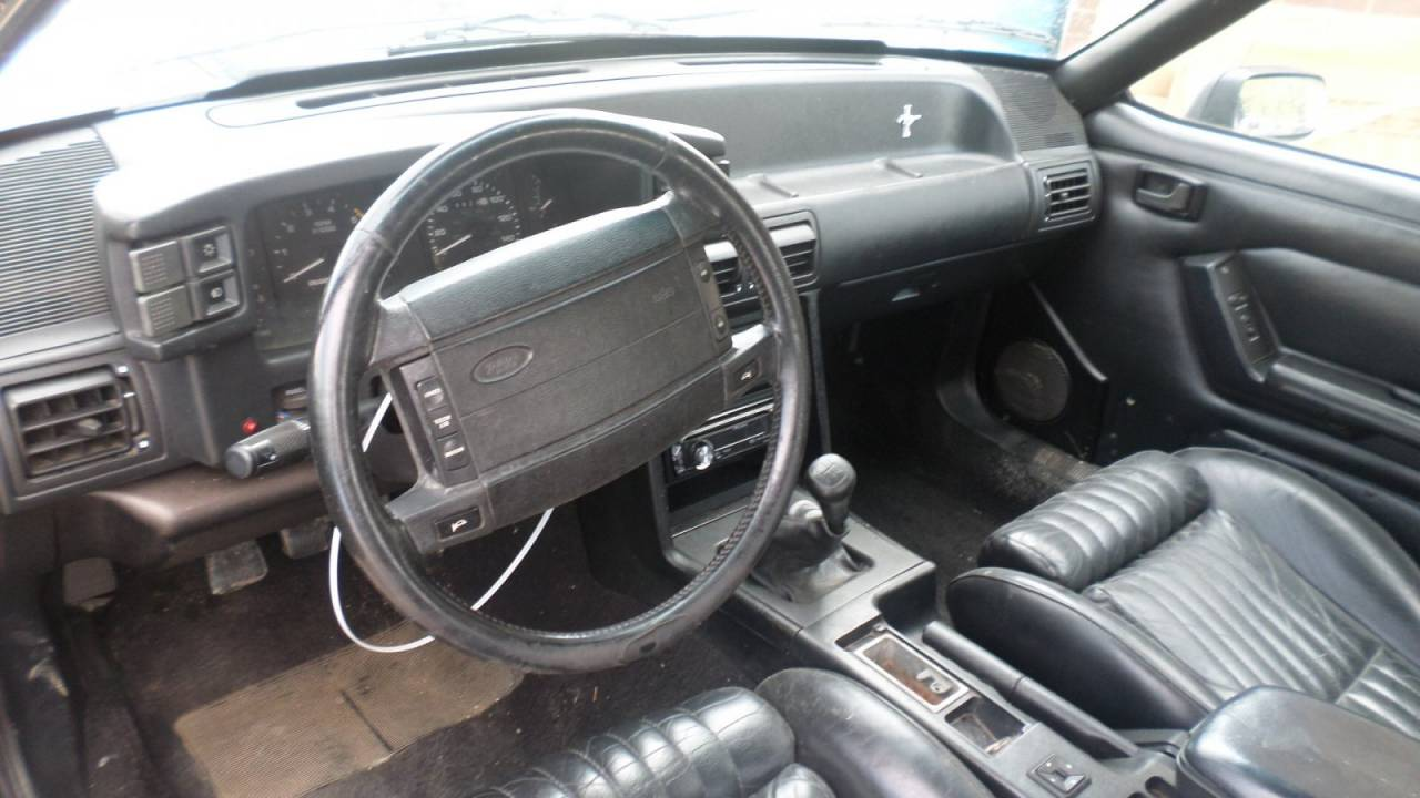 1991 ford mustang convertible 5 0 t5 manual transmission