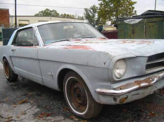 1965 Ford Mustang 93 GT 5.0 302 - Gray