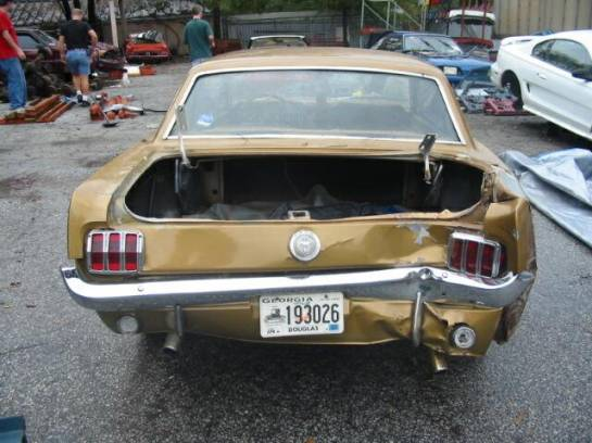 1966 Ford Mustang 289 - Gold - Image 1