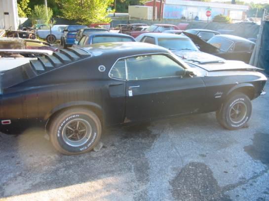 1969 Ford Mustang 351 Windsor - Black - Image 1