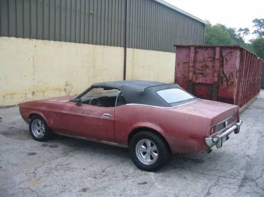 1973 Ford Mustang 351C - Red - Image 1