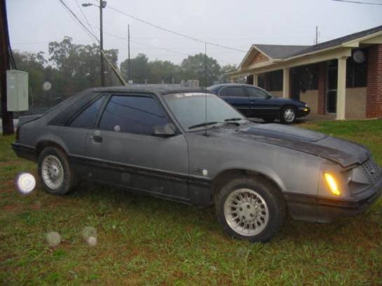 1983 Ford Mustang 5.0 - Dark Gray