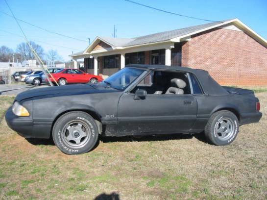 1985 Ford Mustang 5.0 HO - Gray - Image 1