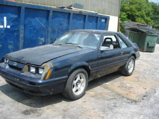 1986 Ford Mustang 5.0 HO T-5 Five Speed - Blue - Image 1