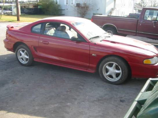1994 Ford Mustang 5.0 HO T-5 - Red - Image 1