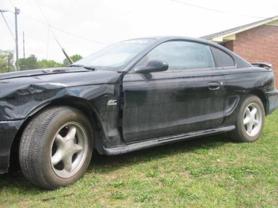 1994 Ford Mustang 5.0 H O Automatic- Black - Image 1