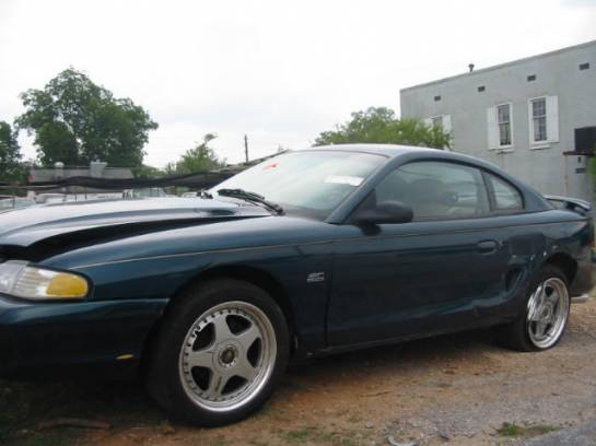 1994 Ford Mustang 5.0 HO Automatic - Green - Image 1