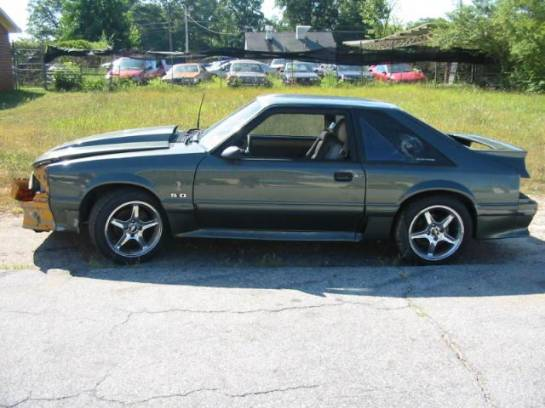 1988 Ford Mustang 5.0 T-5 Five Speed - Green/Gray - Image 1