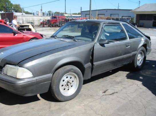 1988 Ford Mustang 5.0 T-5 Five Speed - Grey - Image 1