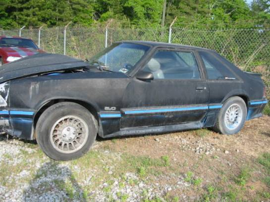 1988 Ford Mustang 5.0 HO T-5 Five Speed - Black - Image 1