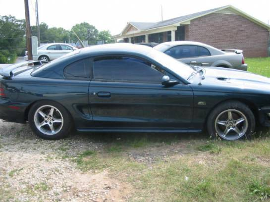 1994 Ford Mustang 5.0 V-8 5-Speed T-5 - Green - Image 1