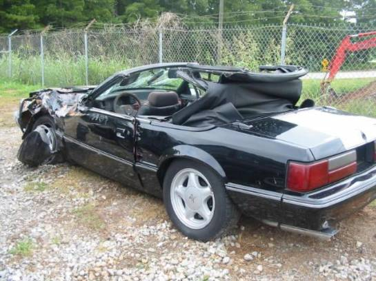 1988 Ford Mustang 5.0 Automatic - Black - Image 1