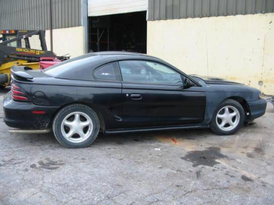 1994 Ford Mustang 5.0 T-5 - Black - Image 1