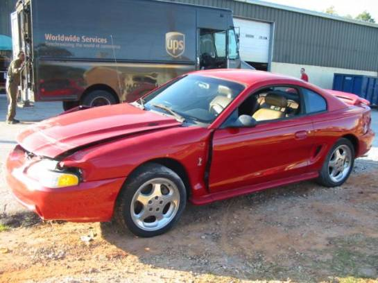 1994 Ford Mustang 5.0 COBRA T-45 Five Speed - Red - Image 1