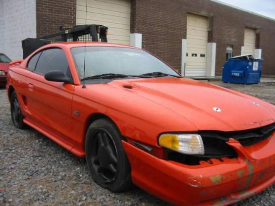1994 Ford Mustang 5.0 T-5 Five Speed - Orange - Image 1