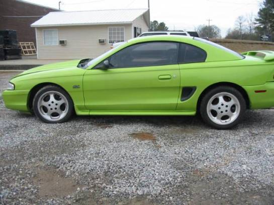 1994 Ford Mustang 5.0 COBRA T-5 Five Speed - Green - Image 1