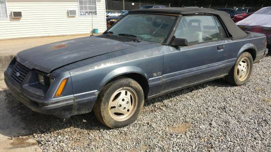1985-1986 Mustang Convertible