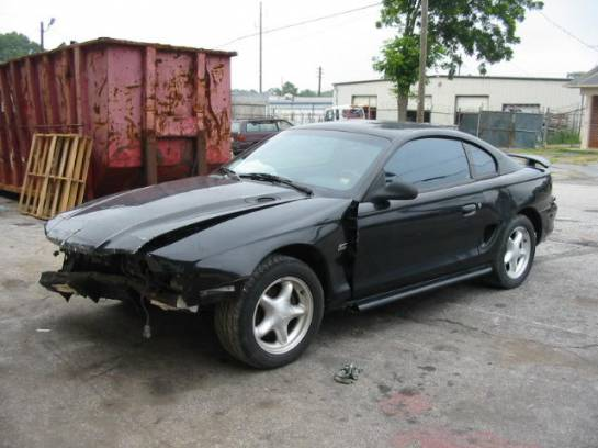 1995 Ford Mustang 5.0 Auto - Black - Image 1