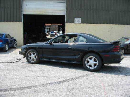 1995 Ford Mustang 5.0 5 Speed - Black - Image 1
