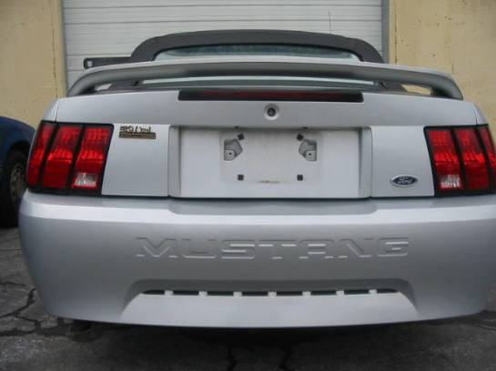 1999 Ford Mustang V6 Automatic - Silver - Image 1