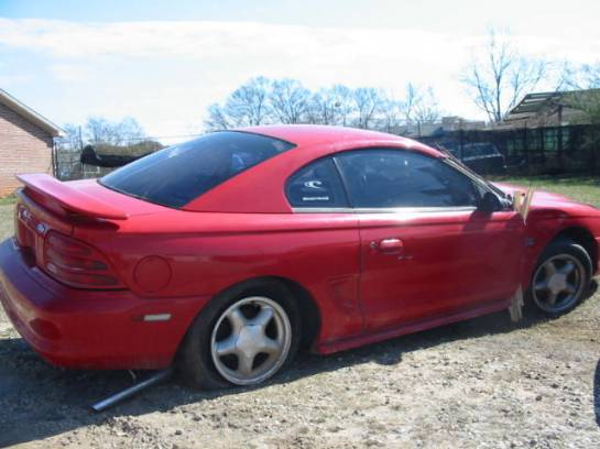1995 Ford Mustang 5.0 Automatic - red - Image 1