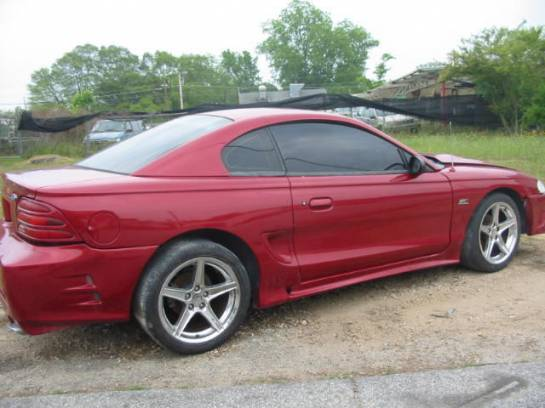 1995 Ford Mustang 5.0 HO T-5 - Red - Image 1