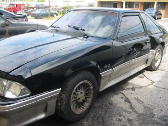 1989 Ford Mustang 5.0 5-Speed - Black & Silver - Image 1