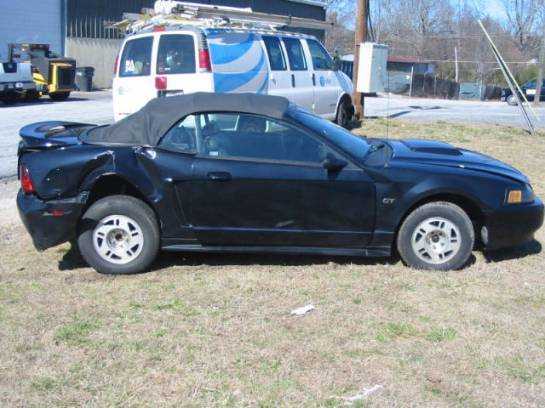2000 Ford Mustang 4.6 5-Speed T-45- Black - Image 1