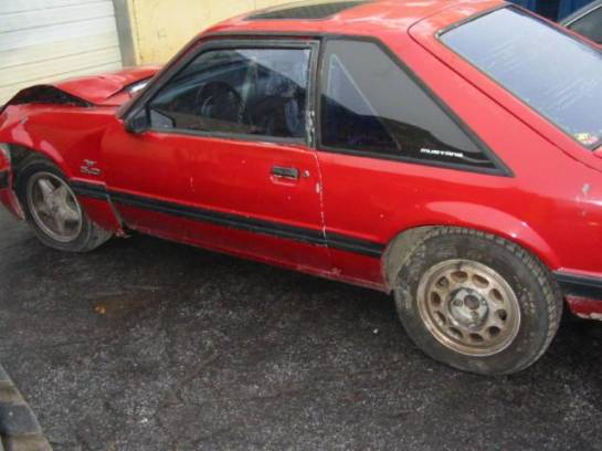 1989 Ford Mustang 5.0 HO 5-Speed T-5 - Red - Image 1