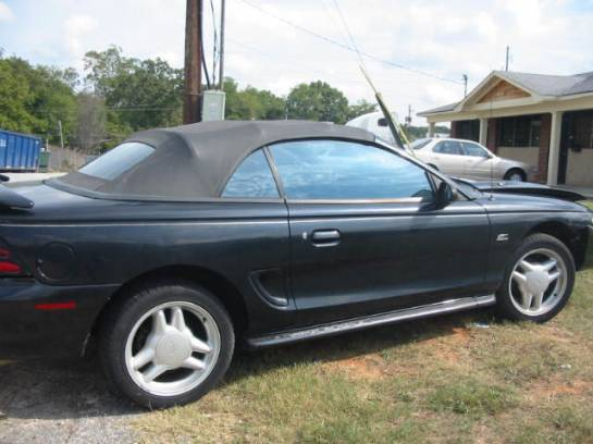 1995 Ford Mustang 5.0 HO T-5 - Black - Image 1