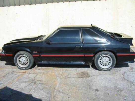1989 Ford Mustang 5.0 AOD Automatic - Black - Image 1