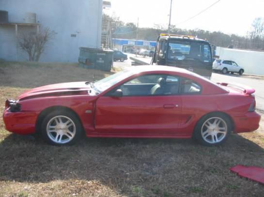 1995 Ford Mustang 5.0 5spd - Red/Orange - Image 1