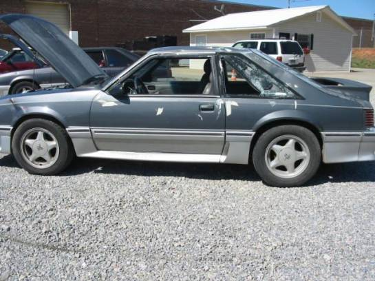 1989 Ford Mustang 5.0 HO T-5 Five Speed - Gray - Image 1