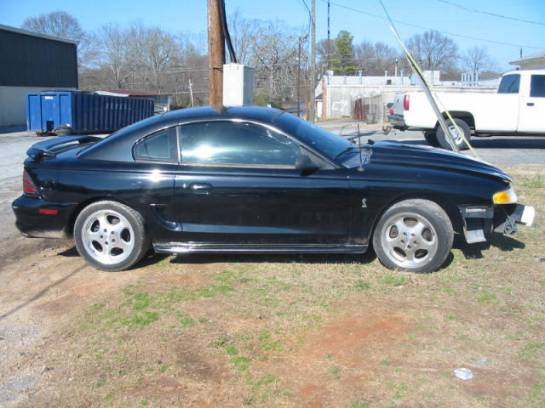 1995 Ford Mustang 5.0 Cobra Motor T-5 5-speed - Black - Image 1