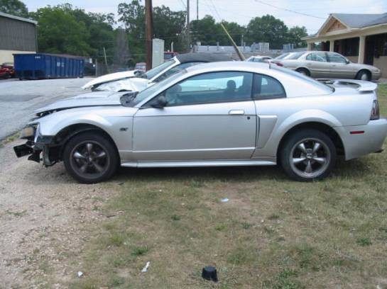 2001 Ford Mustang 4.6 Automatic- Silver - Image 1