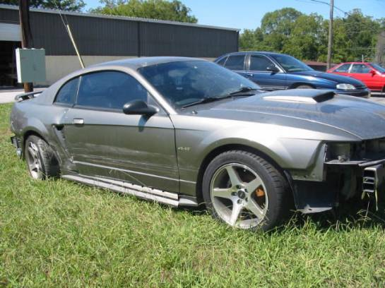 2001 Ford Mustang 4.6 T-3650 - 5spd- Charcoal - Image 1