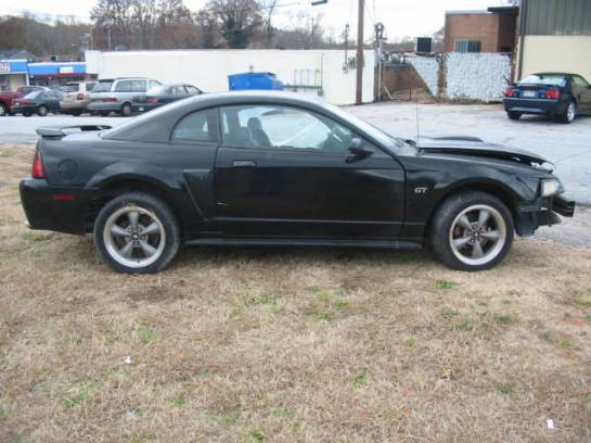 2001 Ford Mustang 5.0 5-speed 3650- Black - Image 1