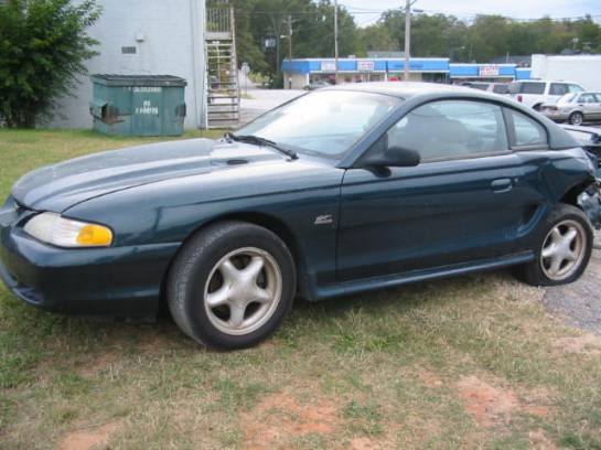 1995 Ford Mustang 5.0 5 Speed - Green - Image 1