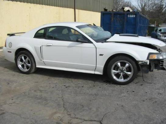 2001 Ford Mustang 4.6 AOD-E Automatic- White - Image 1