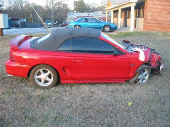1995 Ford Mustang 5.0 5 Speed - Red - Image 1