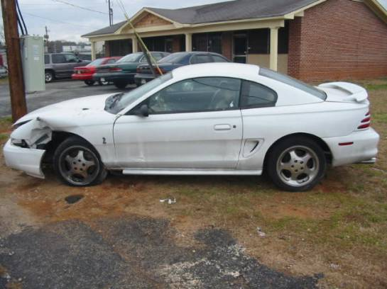 1995 Ford Mustang 302 Cobra T-5 5-Speed - White - Image 1