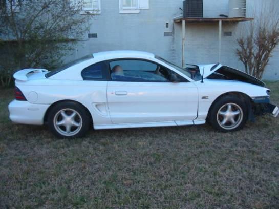 1995 Ford Mustang 5.0 Auto AOD-E - White - Image 1