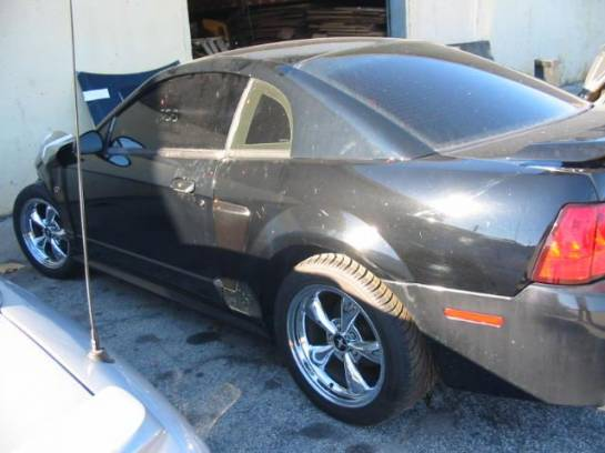 2001 Ford Mustang 4.6 T-3650 Five Speed- Black - Image 1